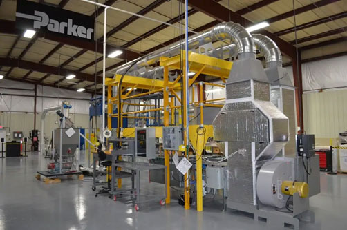 Industrial Filter Test Lab Rig